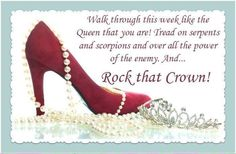 Rock that crown! Virtuous Woman, Godly Woman, Christian Women, Christian Quotes, Christian Living, Spiritual Quotes, Positive Quotes, Positive Thoughts, Deep Thoughts