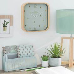 Aquamarine clock Maisons du Monde