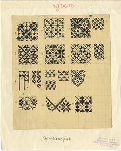 Mitmesuguseid tekstiilkirju mitmest kihelkonnast