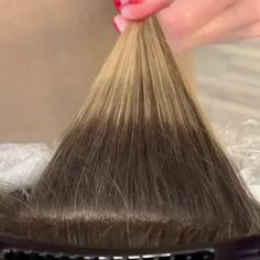 """""""Pro Tip: When Blonding and Balayage: The more points you place = the overall lighter you look"""" The post Life of a Painter appeared first on Aktuelle. Hair Color Balayage, Hair Highlights, Blonde Foils, Hair Foils, Peekaboo Highlights, Black Hair With Highlights, Blonde Balayage, Balayage Technique, Hair Color Formulas"""
