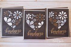 "November ""Kind Flowers"" Card Kit Inspiration by Nichol Spohr - Simon Says Stamp Blog"
