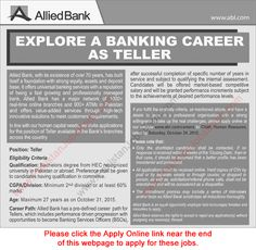 Bank Islami Jobs  Jobs In Pakistan    Daily Dawn