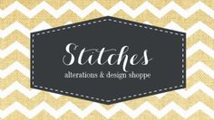 Yellow and White Chevron Fabric Pattern Alterations and Design Business Cards http://www.zazzle.com/seamstress_business_card_template-240580701955286065?rf=238835258815790439&tc=GBCSewing1Pin