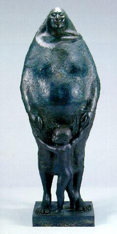 Francisco Zuniga, Standing Bronze, 1974