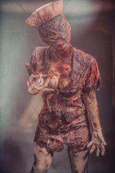 Silent Hill Nurse by cookykun on DeviantArt