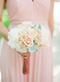 Roses: http://www.stylemepretty.com/2015/04/07/dreamy-blush-ivory-sonoma-wedding/ | Photography: KT Merry - http://www.ktmerry.com/