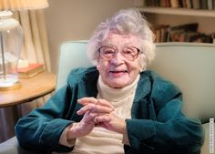 Marian Schlessinger, 101, is my new idol