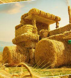 Hay-tractor on Behance