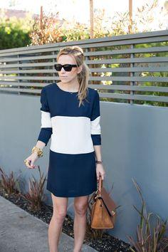 Heidi Merrick Striped Dress