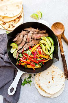 Easy Steak Fajitas - Life Made Sweeter