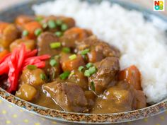 Japanese Beef Rice Curry Recipe | Curry and Rice