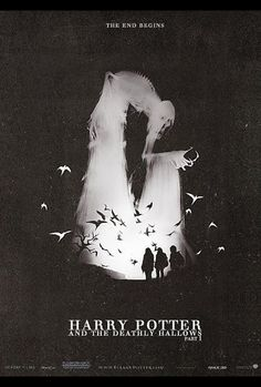 Movie poster of Harry Potter and the Deathly Hallows Part I. It really ads some intensity to the movie.