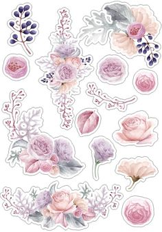 Roses_стили и странички для скрапа