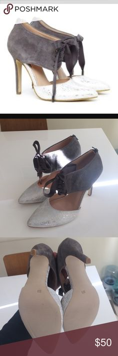 LAST CHANCE!  Donating 5/1. Sole Society Heel Never worn.  With box. Sole Society Shoes Heels