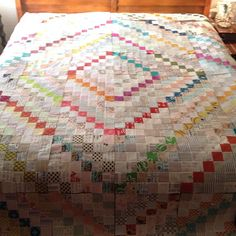 Love, love, LOVE Michelle's #scrappytripalong quilt blocks, via Flickr by Michelle @ i like orange