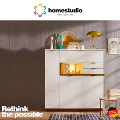 Impeccable design matched only by irreplaceable handiness. Presenting the new 2017 sideboard collection from #Homestudio. Visit http://homestudio.com/experience to explore the new. #Furniture #GermanMadeFurniture #HomeDecor #InteriorDesign #Design