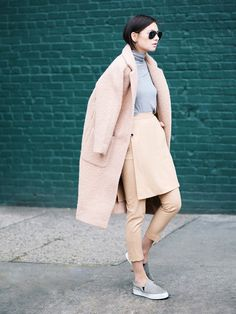 Best blogger outfits winter: the 14 best outfits we've seen all season long! via @WhoWhatWear