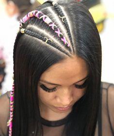 Hermosas #trenzas en hilo Chino los esperamos este fin de semana #braid #braids #trenza #girls #girl #trança #tranças #tranca #peinado #peinados #peinadoscolorin Cornrow Hairstyles For Men, Natural Hairstyles For Kids, Baddie Hairstyles, Teen Hairstyles, Natural Hair Styles, Long Hair Styles, Cool Braids, Braids For Long Hair, Girl Hair Dos