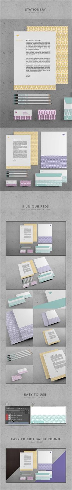 7+ Branding Stationery #Free #PSD #Mockup :