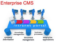 Enterprise CMS Systems - good for sharing information across an entire enterprise