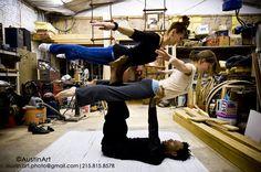 Acrobatic Yoga #yoga #fitness #acrobatic