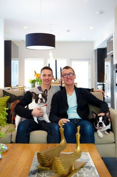 Chad and Dave's Modern Dream Home — Pride at Home: House Tour Greatest Hits | Apartment Therapy