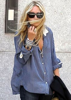 olsen style. love the hair