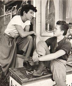 Max Yavno, (American, 1911-1985), Two Young Men, circa, 1947