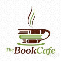 book & cafe logo - Google'da Ara
