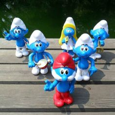 Set of 6 the Smurfs Movie Character Figurines 5.9in( 15cm) Action Figure Plastic Toys by DUSIEC. $94.79. Wow so cute !The Smurfettes are bake! New arrival for sale. It will be a perfect gift for all the sumrfs fans.The lovely sumrfette will remind your children's time!!! Hurry up! And take the lovely toy to your home. The doll toys will come with 100% new.  Description: 100% NEW Size: About 5.9in(15CM)  Material: High quality PVC