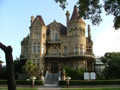 Designed by an Irish immigrant, built for a lawyer, lived in by a Bishop and watched over by winged lions. Ready to be enjoyed by you. 1892 Bishop's Palace. Galveston, Texas