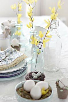 Craftberry Bush: Spring Tablescape