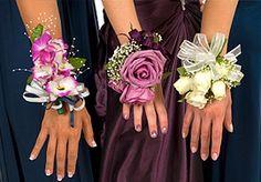 Polscorsages bruid