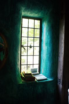 interior nook, strawbale house tour, photo by Tamera Ferro of Verhext
