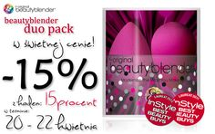 Beautyblender aż 15 % taniej :) http://beautyblender.net.pl/pl/p/beautyblender-duo-pack/76
