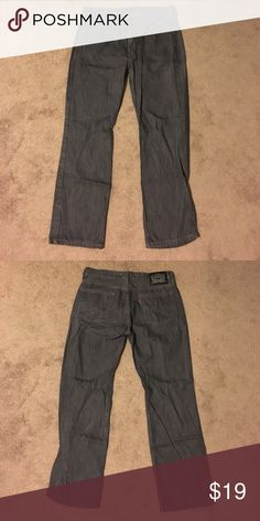 Levi's Dark Gray Jeans 34x30 Appears to be a straight fit style. Great condition Levi's Jeans Straight