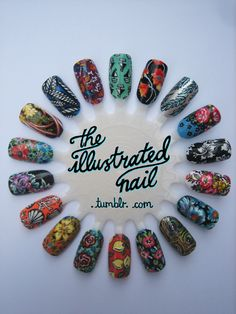 nail wheel - i like the feather one