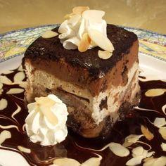 Chunky chocolate cookie dough cake