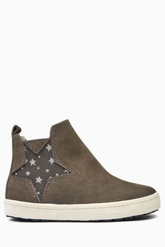 Buy Grey Star Chelsea Boots (Younger Girls) from Next USA