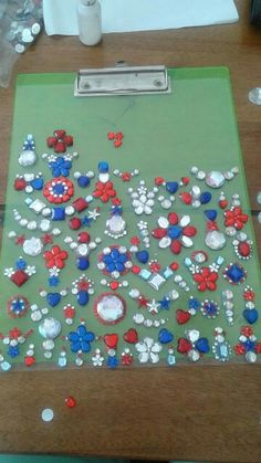 Red White and Blue bling Painting For Kids, Red White Blue, Face And Body, Body Painting, Bling Bling, Body Art, Carnival, Faces, Gems