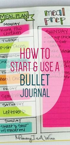 How To Start and Use a Bullet Journal - Bullet Journal Ideas and Bullet Journal Spreads