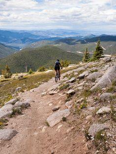 Monarch Crest Trail Mountain Bike Trail in Salida, Colorado || SINGLETRACKS.COM