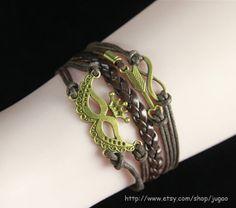 Infinity Bracelet Womens Fashion Jewelry Bracelet  by JuGao, $4.90
