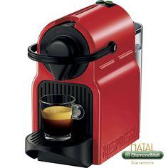 Máquina de Café Nespresso Inissia Ruby Red - Tool Box