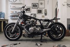 Coming up – Hookie #6 is based on a Honda CB750 – this beast will be low, fast and rough.