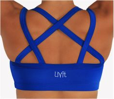 Workout clothes that are just as cute as, but less expensive than Lululemon... LivFit Clothing
