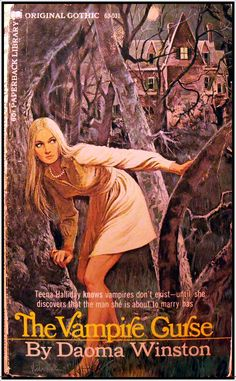 gothic romance paperback art | gothic romance cover art | my love-haunted heart