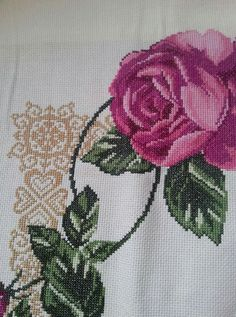 Cross-stitch Top Quality Beautiful Lovely Triptich Triptych Cross Stitch Kit Clock Tulip Tulips Flower Timepieces Included