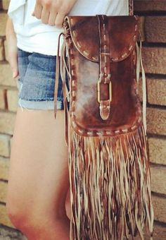 In love with this fringe bag