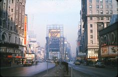 1960s Times Square NYC vintage  New York City Billboards by Christian Montone